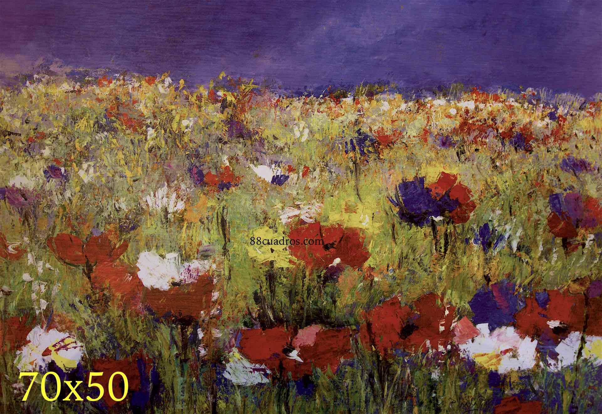 Campo abstracto 88 cuadros a 8 euros for Enmarcar cuadros precios